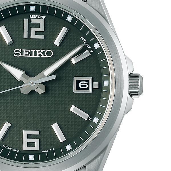 セイコー セレクション master-piece マスターピース 監修 流通限定モデル SBTM303 メンズ 腕時計 ソーラー電波 ギョーシェ模様 グリーン theclockhouse-y 05