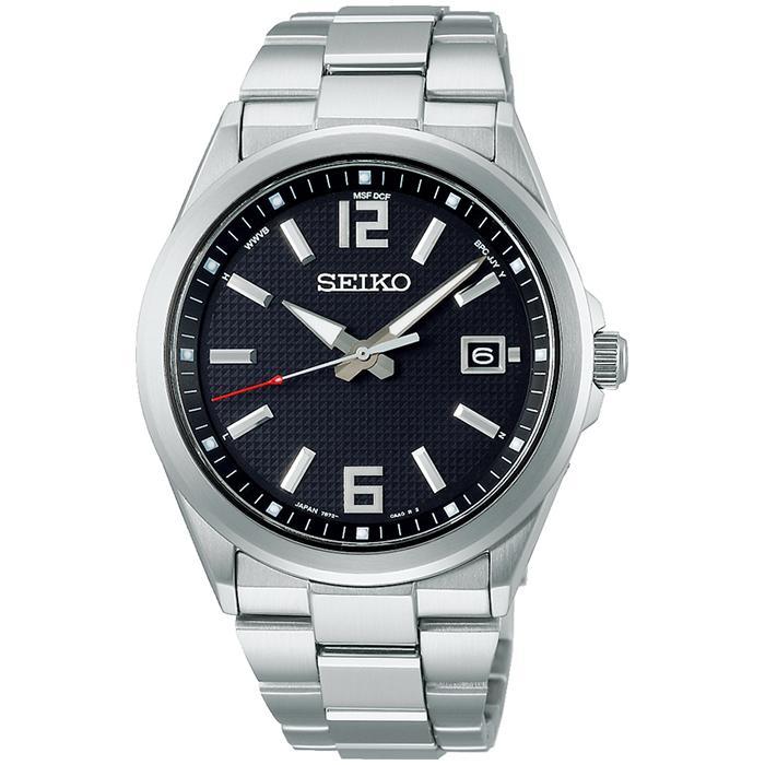セイコー セレクション master-piece マスターピース 監修 流通限定モデル SBTM307 メンズ 腕時計 ソーラー電波 ギョーシェ模様 ブラック|theclockhouse-y|02