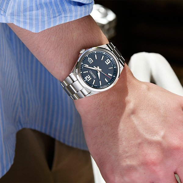 セイコー セレクション master-piece マスターピース 監修 流通限定モデル SBTM307 メンズ 腕時計 ソーラー電波 ギョーシェ模様 ブラック|theclockhouse-y|07