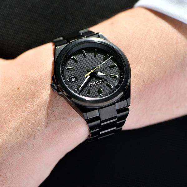 セイコー セレクション master-piece マスターピース コラボレーション 限定モデル SBTM309 メンズ 腕時計 ソーラー電波 ブラック 日本製|theclockhouse-y|08