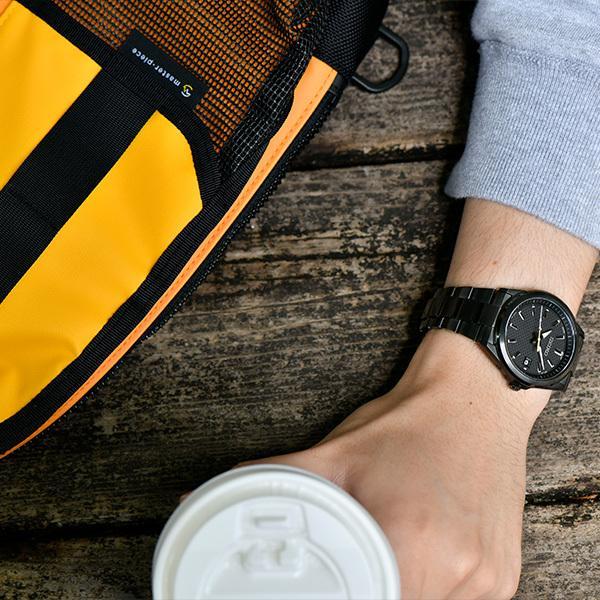 セイコー セレクション master-piece マスターピース コラボレーション 限定モデル SBTM309 メンズ 腕時計 ソーラー電波 ブラック 日本製|theclockhouse-y|09