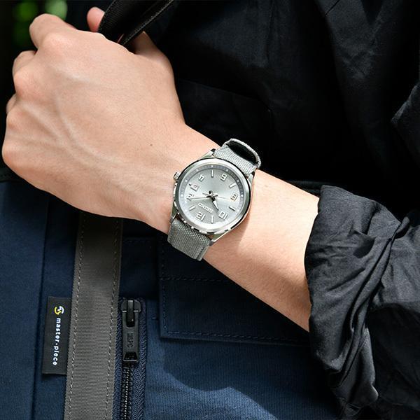 セイコー セレクション master-piece マスターピース 監修 流通限定モデル SBTM311 メンズ腕時計 ソーラー電波 ギョーシェ模様 グレーナイロン|theclockhouse-y|07