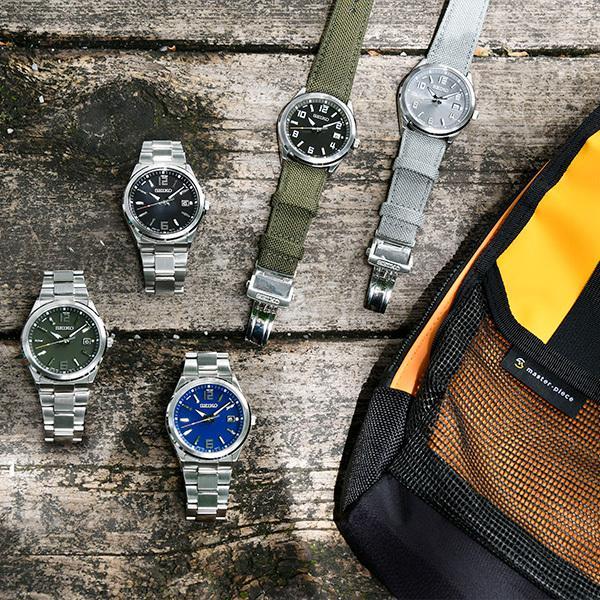 セイコー セレクション master-piece マスターピース 監修 流通限定モデル SBTM311 メンズ腕時計 ソーラー電波 ギョーシェ模様 グレーナイロン|theclockhouse-y|09