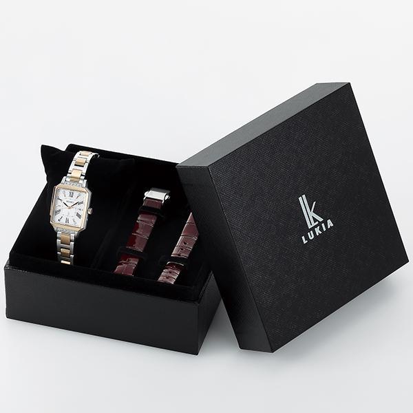 セイコー ルキア 25周年記念 第4弾 限定モデル SSVW178 レディース 腕時計 ソーラー電波 替えバンド|theclockhouse-y|04