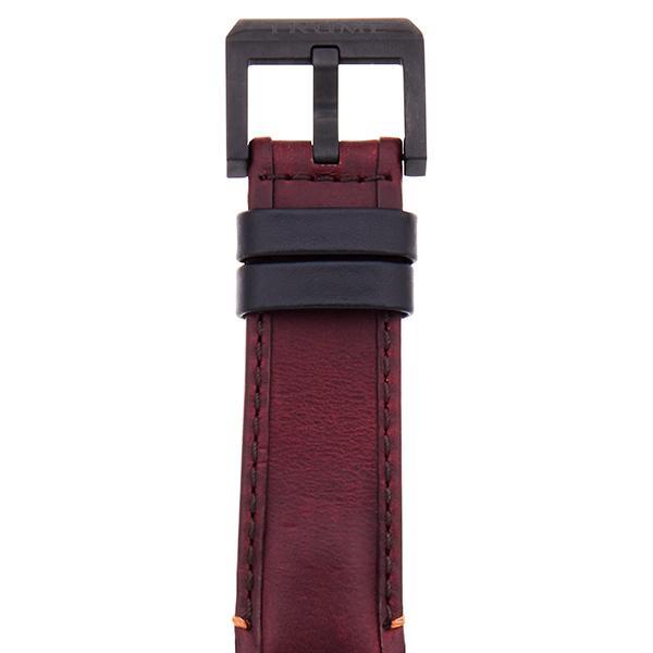 TRUME トゥルーム Lコレクション ブレークライン 販売店限定モデル TR-ME2006 メンズ 腕時計 自動巻発電 GMT セラミック レザー レッド theclockhouse-y 07