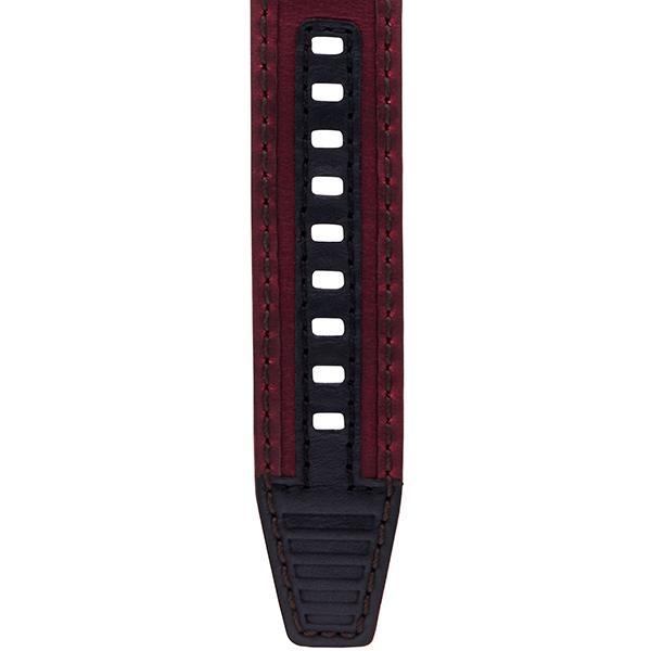 TRUME トゥルーム Lコレクション ブレークライン 販売店限定モデル TR-ME2006 メンズ 腕時計 自動巻発電 GMT セラミック レザー レッド theclockhouse-y 08