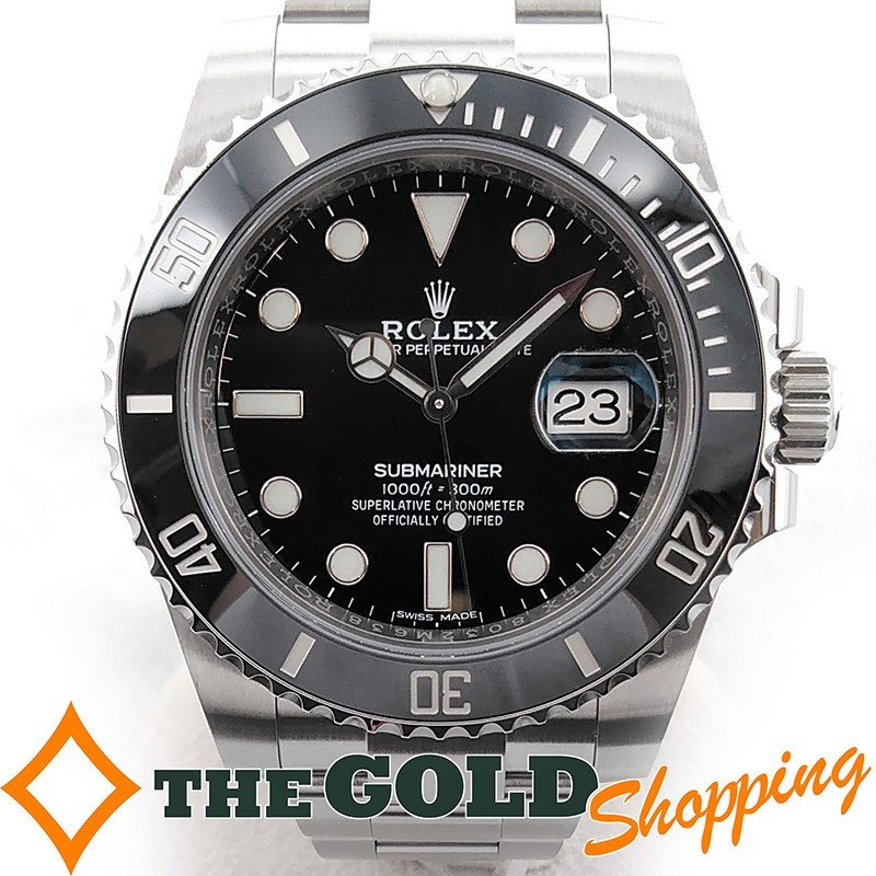 最も完璧な ロレックス サブマリーナー デイト 116610LN ランダム 時計 腕時計 メンズ[男性用] ROLEX, きもの紫竹 cc1e9af9