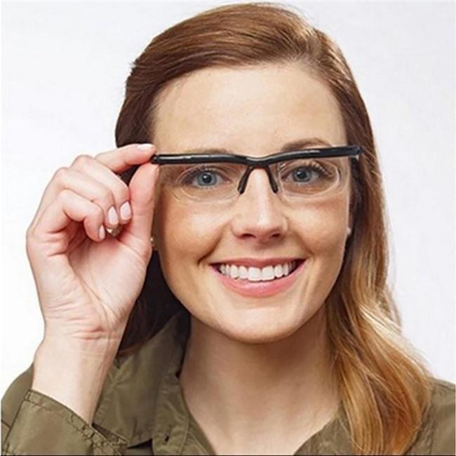 老眼鏡 イーチャンス ビスマックス オートフォーカス 遠近両用 めがね 多焦点レンズ 眼鏡 遠視 近視 度数調節 メガネ リーディンググラス 老人 メンズ thekim 02