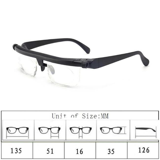 老眼鏡 イーチャンス ビスマックス オートフォーカス 遠近両用 めがね 多焦点レンズ 眼鏡 遠視 近視 度数調節 メガネ リーディンググラス 老人 メンズ thekim 04