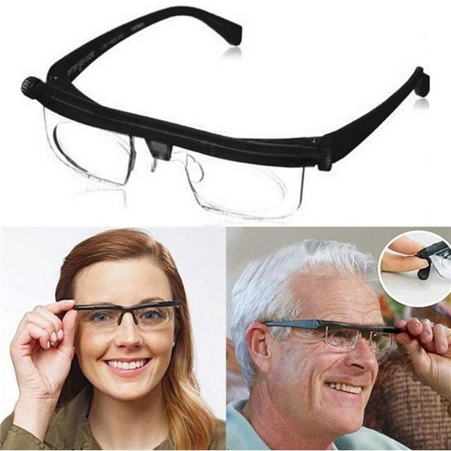 老眼鏡 イーチャンス ビスマックス オートフォーカス 遠近両用 めがね 多焦点レンズ 眼鏡 遠視 近視 度数調節 メガネ リーディンググラス 老人 メンズ thekim 08