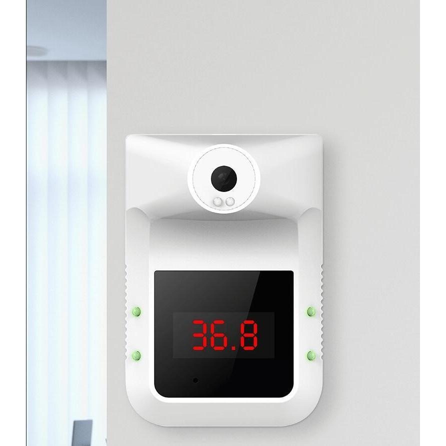 限定セール !高評価 壁掛け赤外線温度計 自動測定 0.1秒以内にスビート測定 赤外線温度計 非接触型 温度計 電子温度計 家庭用 体温計 企業|thekim|09