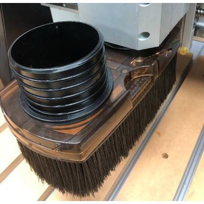 Axiom CNCルーター用集塵アタッチメント