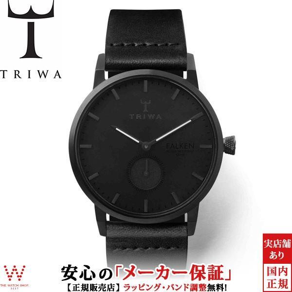 163be9ea5d トリワ TRIWA ミッドナイト ファルケン FAST115-CL010101ブラック クラシックメンズ レディース 腕時計 時計 thewatchshopwebstore  ...