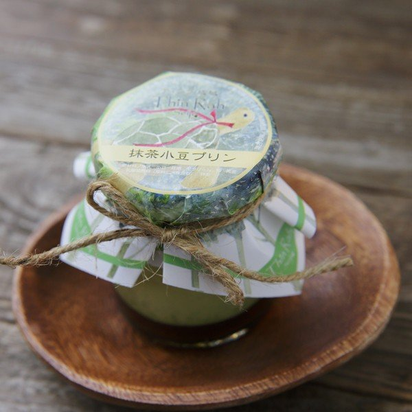 抹茶小豆プリン|thinrah-webstore