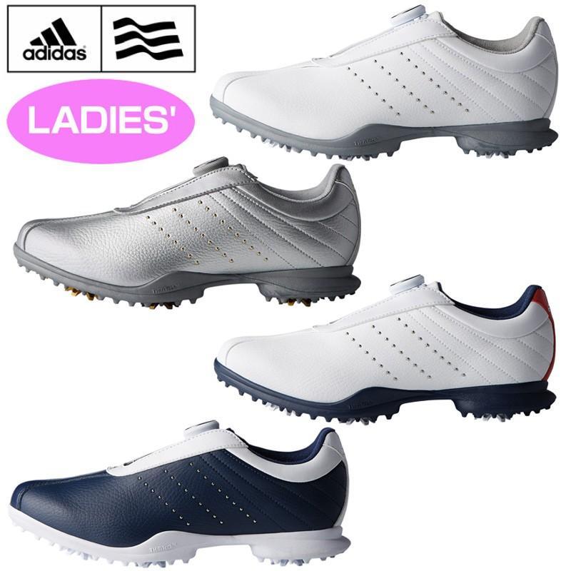 レディース アディダス ウィメンズ ゴルフシューズ ドライバー ボア 2.0 Driver Boa 2 日本仕様18SS adidas 女性用 レディース 靴 スパイク