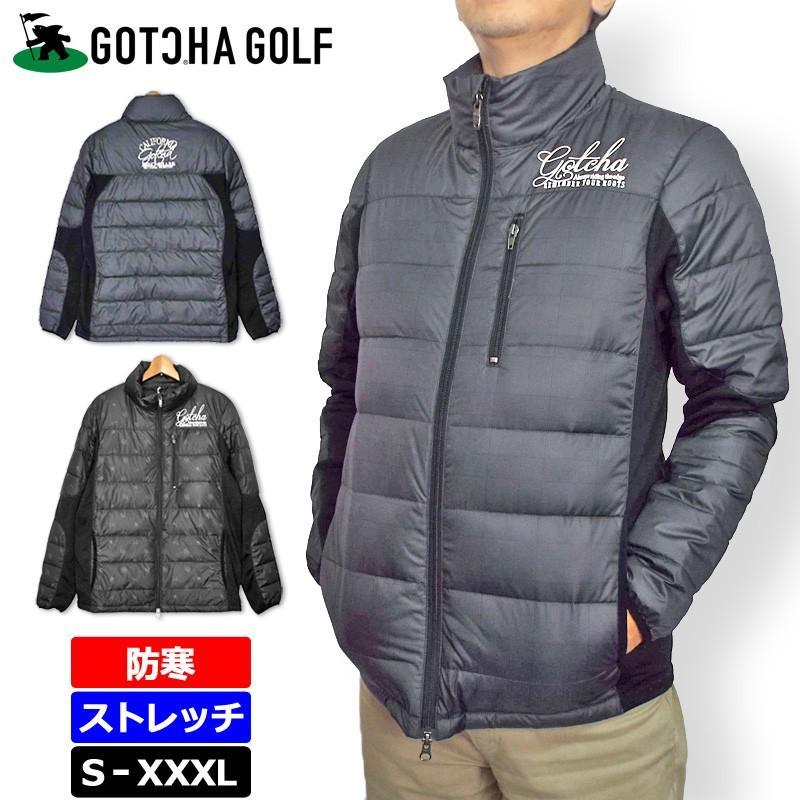 ガッチャゴルフ メンズ ダウンジャケット 183GG1600 18FW GOTCHA GOLF ゴルフ メンズウエア アウターブルゾン