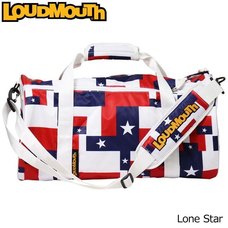 日本規格 ラウドマウス ボストンバッグ (ローンスター/Lone Star) LM-BB0003/768991(115) 18SS Loudmouth ゴルフ用品 メンズ レディース ドラムバッグ