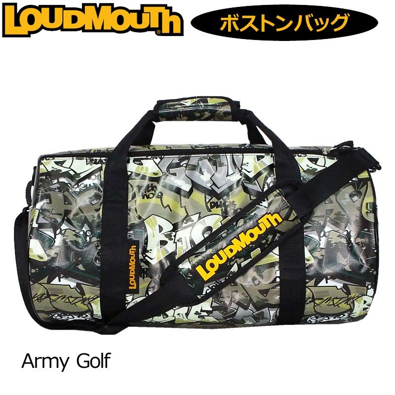 日本規格 ラウドマウス 2019 ドラムバッグ Army Golf アーミーゴルフ LM-BB0005/769994(200) 19SS Loudmouth ゴルフ用バッグ ボストンバッグ