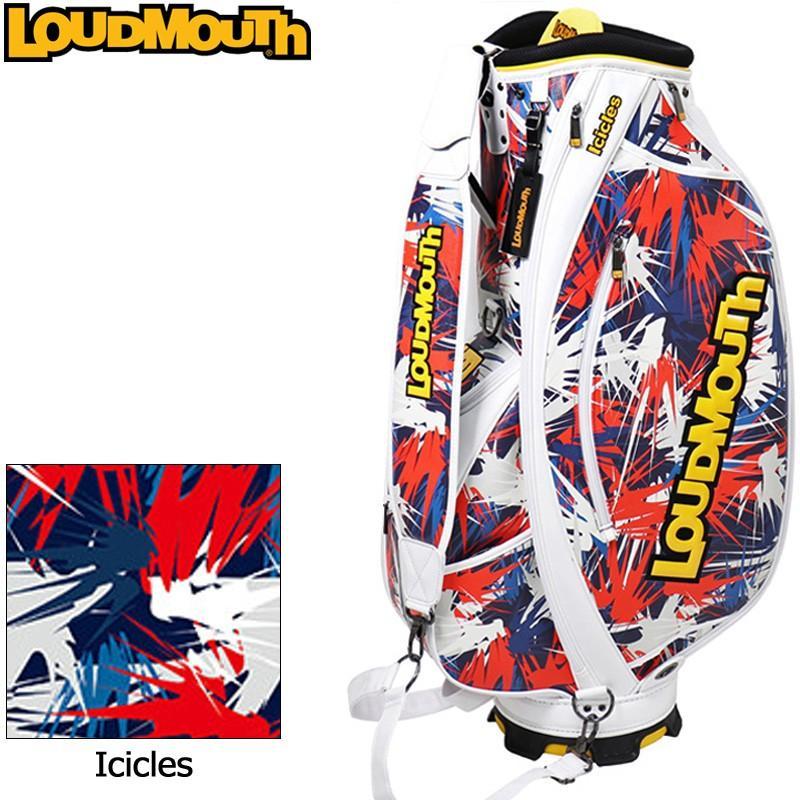 買得 日本規格 ラウドマウス 3点式 9型 キャディバッグ Icicles アイシクル LM-CB0006/(178) 769997 19SS Loudmouth ゴルフ用バッグ 派手 な, グレースシトラス c148ca7d
