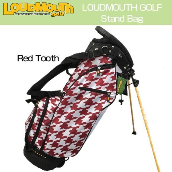 2019年秋冬新作 ラウドマウス Loudmouth ゴルフ キャディバッグ スタンドバッグ Red Tooth レッドトゥース 新品 スタンド式 ゴルフ用バッグ, 九州の材木屋 -木のやすらぎ館 f7e725b3
