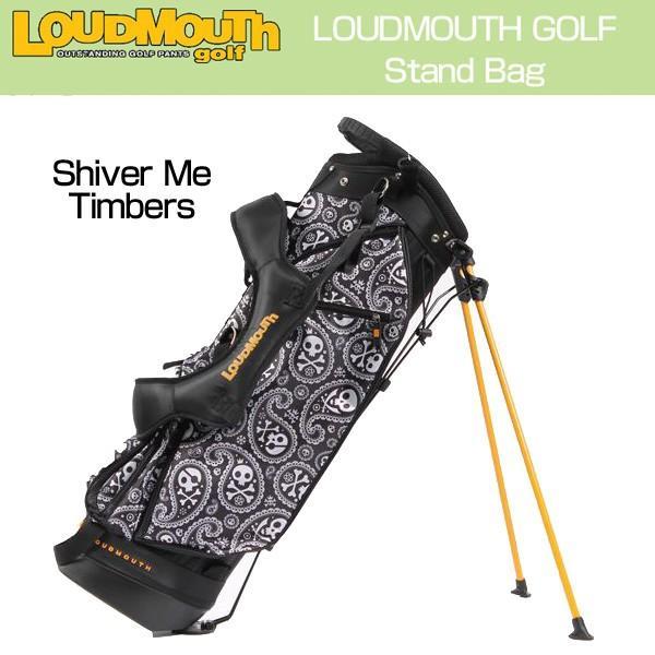 品質が完璧 ラウドマウス Loudmouth ゴルフ キャディバッグ スタンドバッグ Shiver me Timbers シヴァーミーティンバーズ 新品 スタンド式 ゴルフ用バッグ, 豊橋市 eb8cf83f