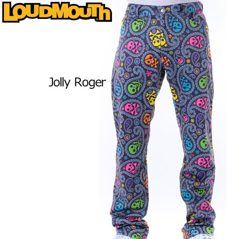 ラウドマウス メンズウエア ロングパンツ (026)Jolly Roger ジョリーロジャー 726515 メンズ 秋 冬 新品 Loudmouth 16FW 日本規格