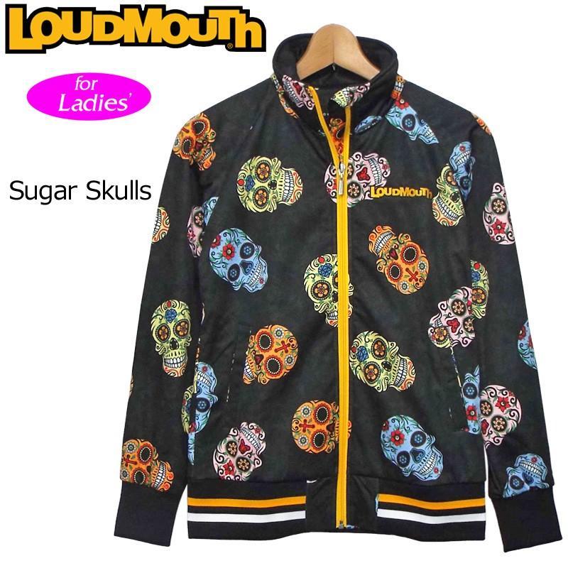 日本規格 レディース ラウドマウス ボンディング ジャケット Sugar Skulls シュガースカルズ 777251(058) 17FW Loudmouth アウター OCT1 OCT2