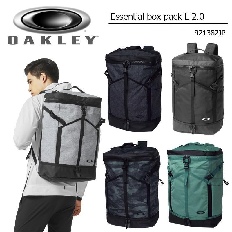 オークリー Essential Box Pack L 2.0 バックパック 921382JP 18FW Oakley ゴルフ用 バッグ メンズ 男性用 紳士用 リュックサック