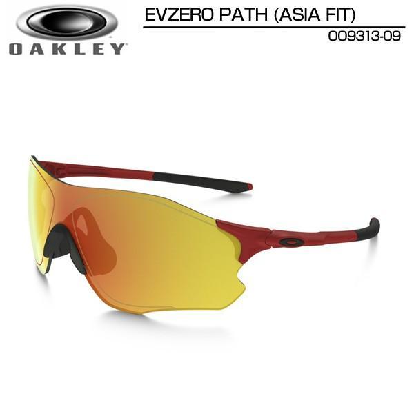 日本正規品 オークリー サングラス OO9313-09 (Infa赤/Fire Iridium) EVZero Path Asian Fit イーブイゼロパス Oakley 最軽量フレームレス