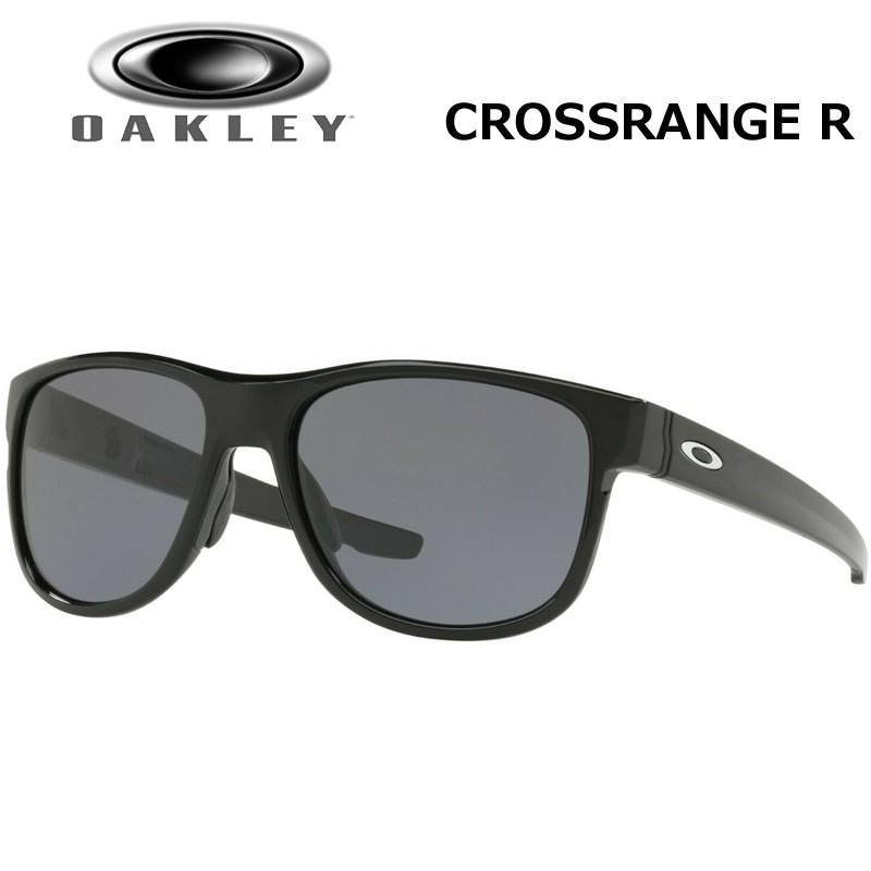 Oakley オークリー サングラス クロスレンジ R CROSSRANGE R ポリッシュドブラック×グレイ OO9359-0157 日本正規品 メンズ レディース