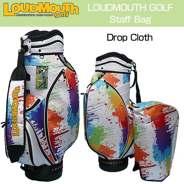 ラウドマウス Loudmouth ゴルフ キャディバッグ スタッフバッグ Drop Cloth Staff Bag 1.0 ドロップクロス 新品 ゴルフ用バッグ