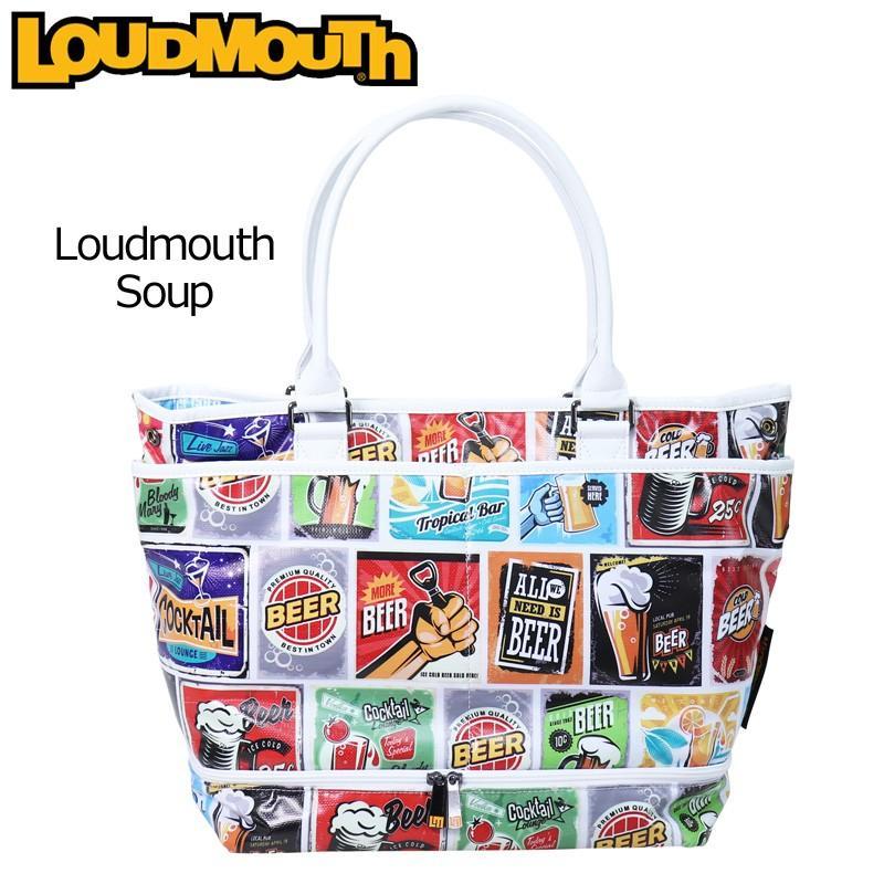 日本規格 ラウドマウス 2019 ビッグ トートバッグ Loudmouth Soup ラウドマウス スープ LM-TB0004/769993(177) 19SS Loudmouth ボストンバッグ