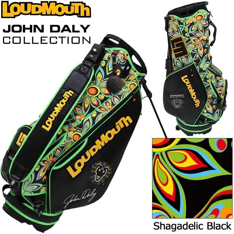 日本規格 生産数量限定 ラウドマウス 2019 3点式 9型 スタンドバッグ ジョン・デーリーコレクション Shagadelic Black JD-SB0001 779998 19FW Loudmouth 派手