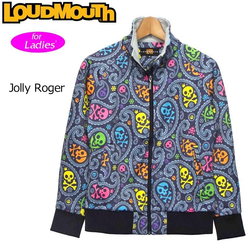 日本規格 レディース ラウドマウス 長袖ボンディング ジャケット Jolly Roger ジョリーロジャー 726707(026) 秋冬 防寒 16FW Loudmouth ブルゾン
