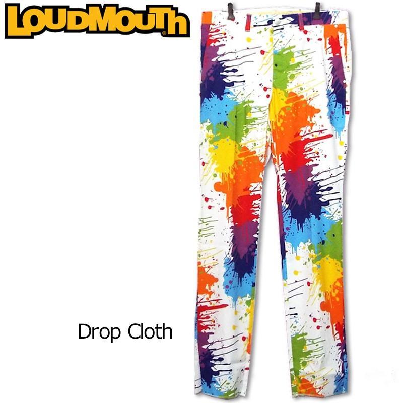 日本規格 ラウドマウス メンズ ロングパンツ (Drop Cloth ドロップクロス) 767303(001) 春夏 17SS Loudmouth ゴルフ メンズウェア