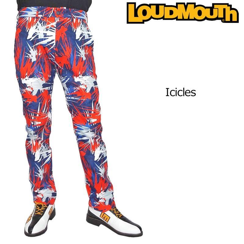 日本規格 ラウドマウス 2019 メンズ ロングパンツ アイシクル 769310(178) 春夏秋 19SS Loudmouth Iciclesゴルフウェア ボトムス
