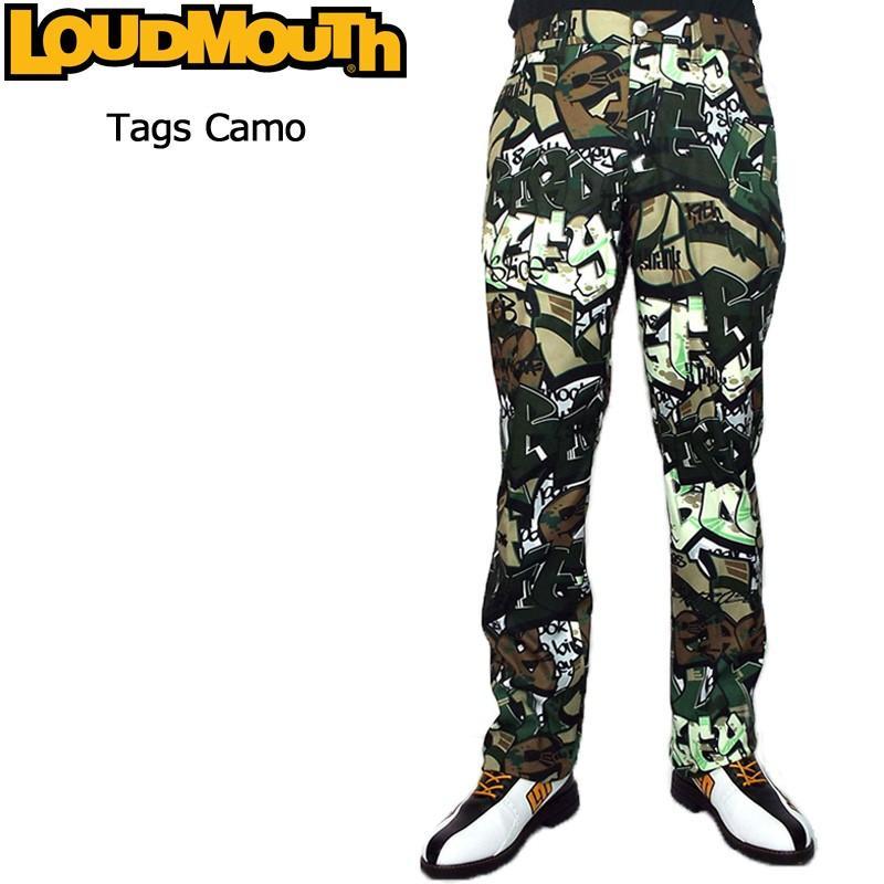 日本規格 ラウドマウス メンズ ロングパンツ (タグスカモ Tags Camo) 778304(159) 18FW Loudmouth ゴルフ メンズウエア