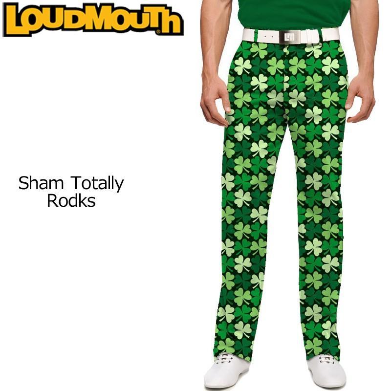 インポート ラウドマウス Loudmouth ゴルフ メンズウエア ロングパンツ スリムカット シャムトータリーロックス 新品 17SS Pants Slim Cut