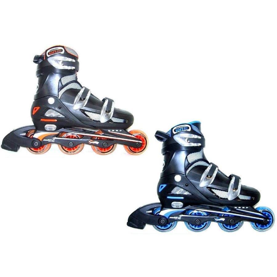 代引不可 Calipro インラインスケート NLS122 アジャスタブルタイプ 24cm〜27cm