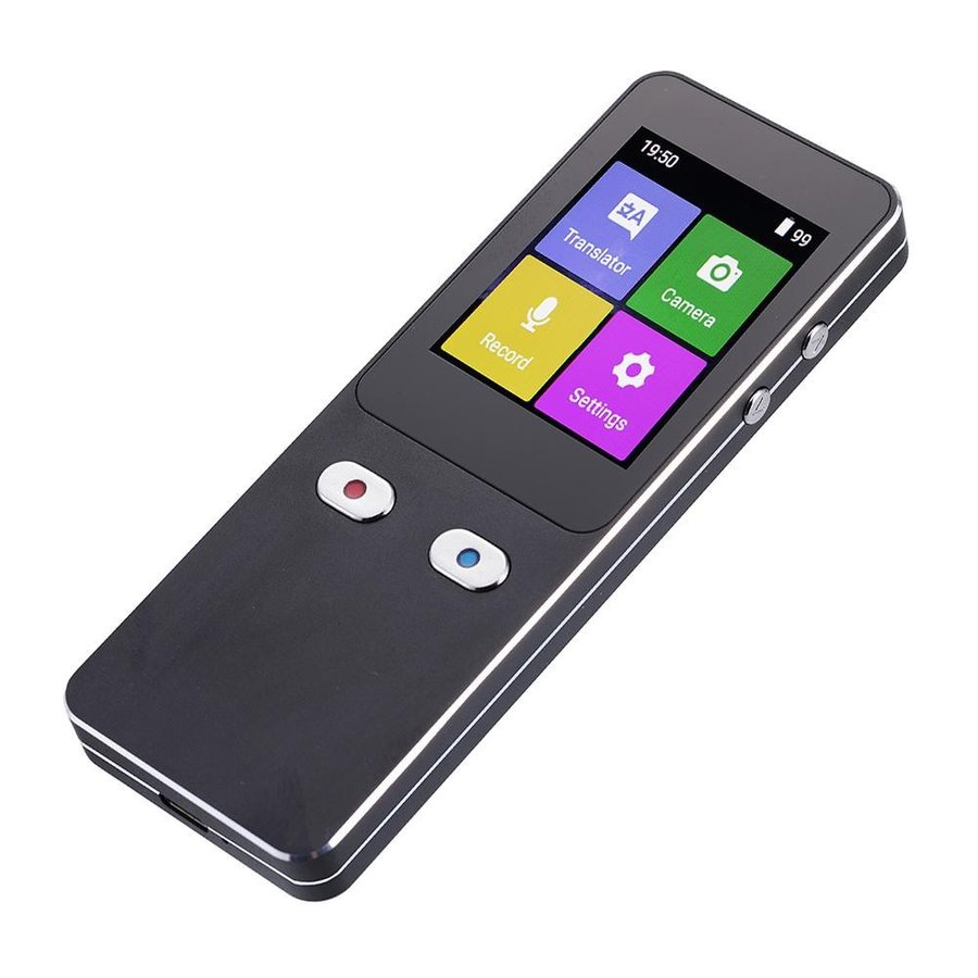 代引不可 カメラ付翻訳機 音声出力44言語対応(音声入力120言語対応)