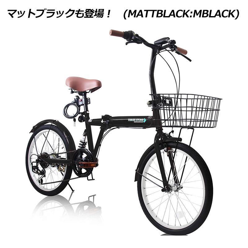 折りたたみ自転車 カゴ&リアサスペンション 20インチ ライト・カギ付き シマノ製6段ギア 折り畳み自転車 EB-020|three-stone-ys|18