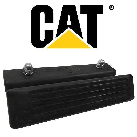 ゴムパッド キャタピラージャパン CAT 300mm幅 ブルドーザー用(横止めタイプ) 76枚 BD2G BD2J(乾地シュー)