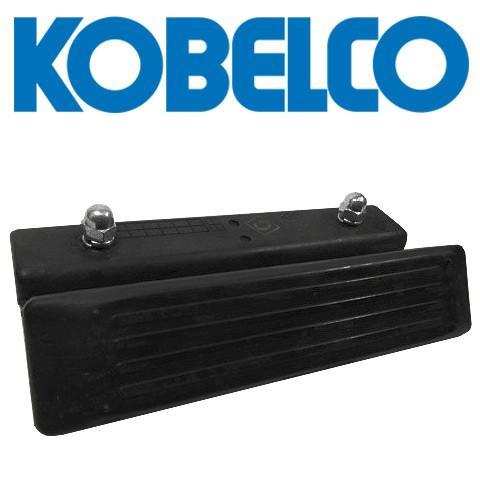 ゴムパッド コベルコ建機 KOBELCO 600mm幅 98枚 SK200LC-3 SK200LC-5 SK200LC-6 SK200LC-8