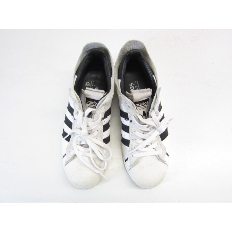 adidas アディダス SUPER STAR スーパースター FV 3024 スニーカー SIZE: 25.5cm メンズ スニーカー 靴 ▲UT6985 thrift-webshop