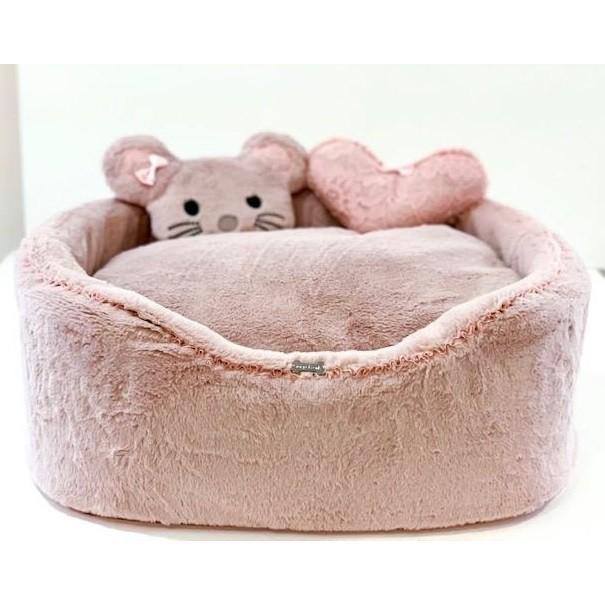 フォーペッツオンリー for pets only Furry Pink Sofa AI2019-B1-M小型犬 ソファ ベッド カドラー セレブ