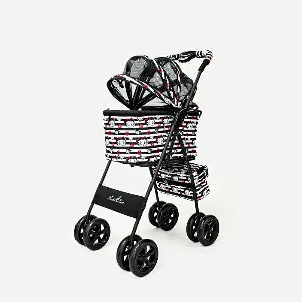 天使のカート Betty Boop Pudgy専用ドームカバー付 Mサイズ 犬用品 キャリーカート ペットカート ペットバギー