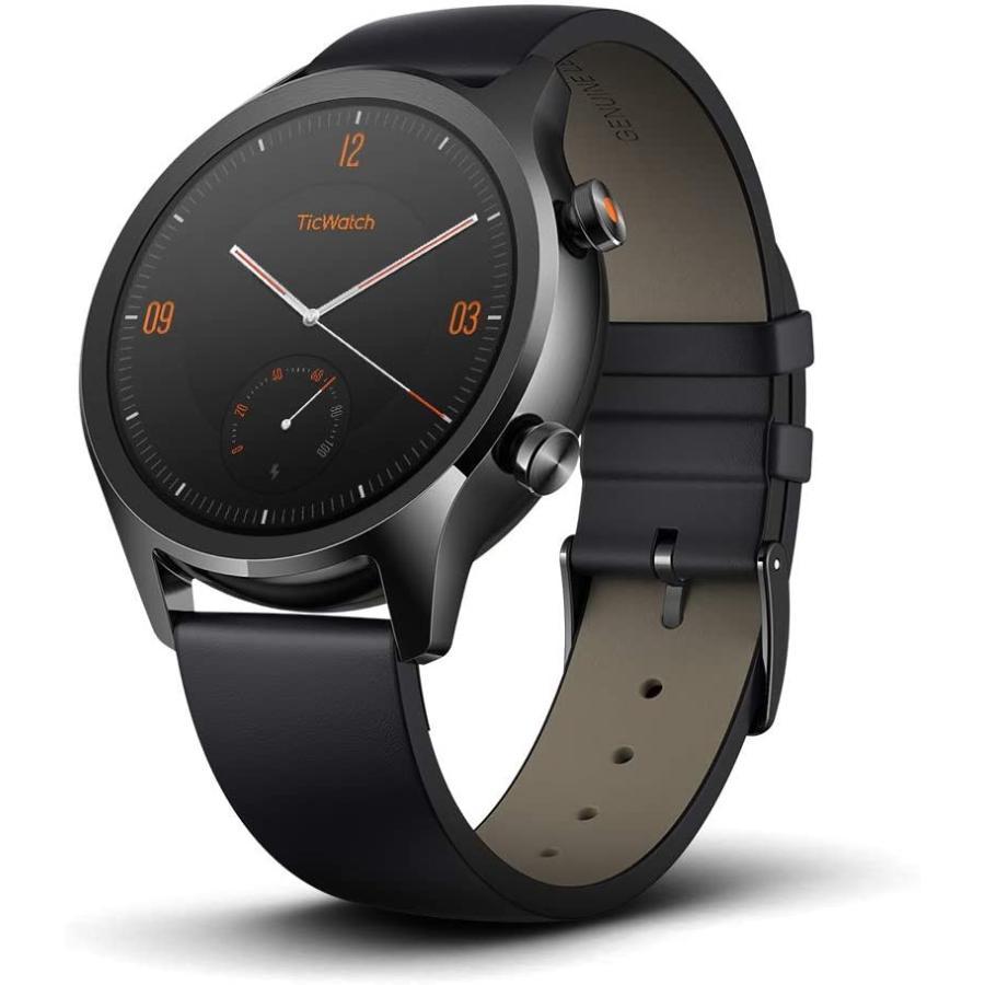 スマートウォッチ TicWatch C2+ ティックウォッチ Wear OS by Google GPS メンズ レディース 腕時計 1GB RAM IP68防水 電話 着信 LINE通知 心拍計 マイク|ticwatch|14