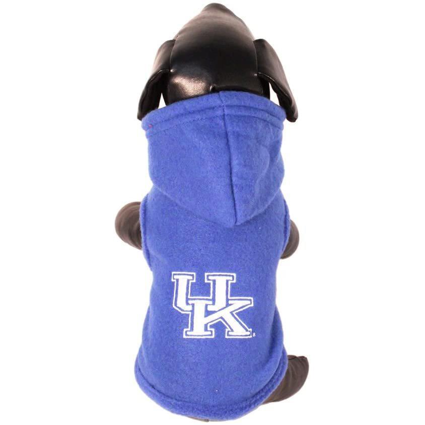 NCAA ケンタッキー ワイルドキャッツ ポーラーフリース フード付きドッグジャケット L