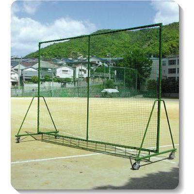 (メーカー直送)野球用ネット・フレームセット【防球フェンス(3mx4m)】 ネット下ボール止め付【銀行前払いまたはクレジット払い扱い・別途送料商品】