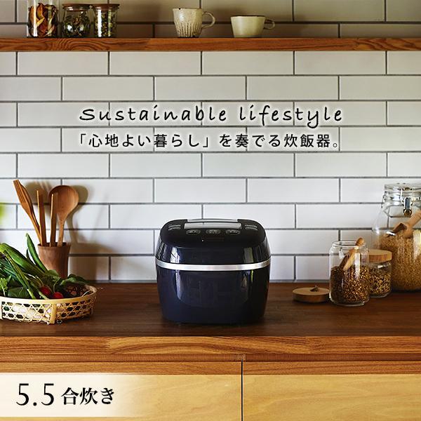 タイガー 圧力IH 炊飯器 5.5合 JPI-A100KO 土鍋 コーティング 圧力 IH 大麦 おしゃれ 公式ストア 炊飯ジャー コンパクト 炊きたて タイガー魔法瓶 公式サイト オフ ブラック